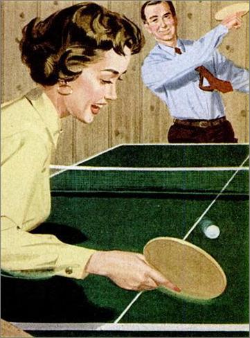Fun jouer au ping pong